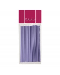 Lollipop sticks 6 inch MAUVE (25)