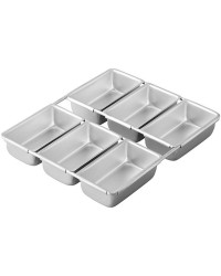 Mini Loaf Pan 6 Cavity by Wilton