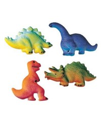 Dinosaur assortment sugar icing decorations (12)