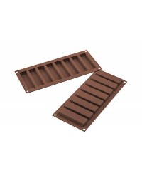Long chocolate bars silicone mould by silikomart