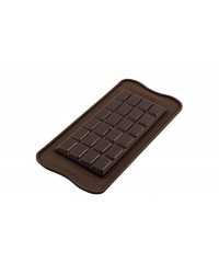 Classic chocolate bar silicone mould by silikomart