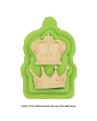 King and Queen Crown silicone mould
