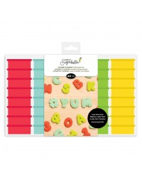 Sweet Sugarbelle Mini Alphabet and number cookie cutter set