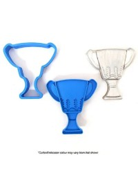 Trophy cookie cutter and embosser