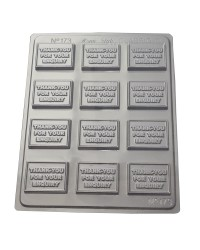 Thank You For You Enquiry Chocolate Mould