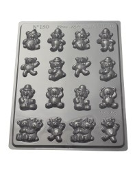 Bite Size Teddy bears chocolate mould