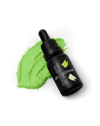 SPRINKS Lime Green GEL COLOUR 15ML