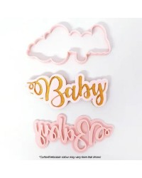 Baby Fondant cookie or fondant cutter and embosser