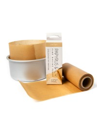 Non stick baking parchment cake paper roll for cake tin sides