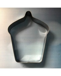 Cupcake shape Large cookie cutter