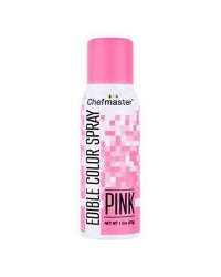 Chefmaster edible colour spray for icing Pink