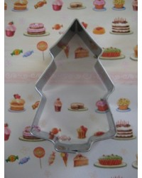 image: Christmas tree MEDIUM cookie cutter