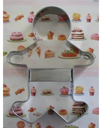 image: Gingerbread man large cookie cutter