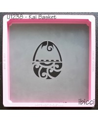Easter Kai basket stencil by ibicci