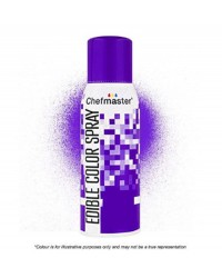 Chefmaster edible colour spray for icing Violet Restricted delivery area