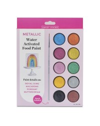 Metallic Colour paint palette by Sweet Sticks
