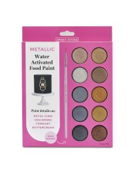Metallic paint palette by Sweet Sticks