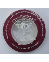 image: Burgundy Wine Floral Tape 13mm