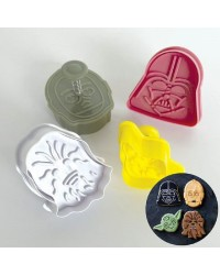 Star Wars plunger ejector cutters set 4