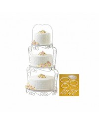 Graceful tiers tiered cake stand