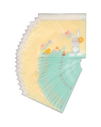 Easter Bunny resealable treat bags 20 pk