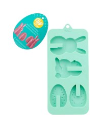 3d Easter bunny and egg chocolate mould