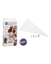 12pce Mini treats decorating set piping tips and decorating bags