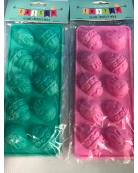 Easter Egg with bunny silicone mould great for chocolates