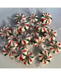 Starlight Mints Candy lollies Red Green and white