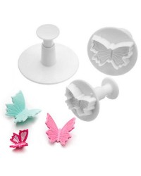 Butterfly plunger cutter set of 3 Style no2