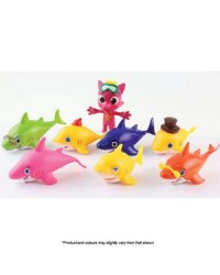 BABY SHARK FIGURINES Cake Topper 8 PIECE SET