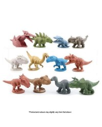 DINOSAURS FIGURINES Cake Topper 12 PIECE SET