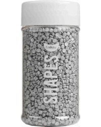 Silver sequins CONFETTI 3MM MINI SPRINKLES BY GOBAKE