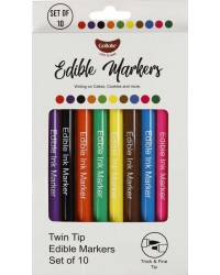 Edible Marker pens pack of 10