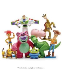 Toy Story FIGURINES cake topper 9 PIECE SET