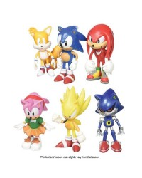 Sonic the Hedgehog figurines set of 6 cake toppers