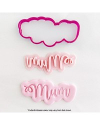 MUM COOKIE CUTTER and EMBOSSER
