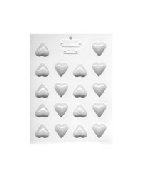 Small hearts hard candy or chocolate mould