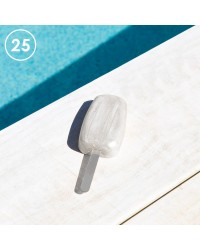 Cakesicle acrylic sticks Silver Pack of 25