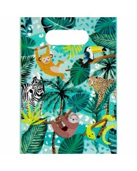 Wild jungle party lootbags Pack of 8