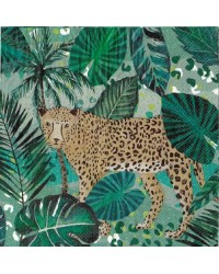 Wild jungle party napkins Pack of 20