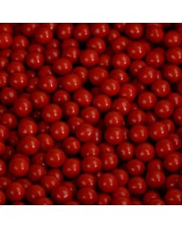 10mm Red sixlets 100g (cachous or sugar pearls) 100g