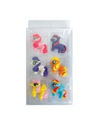 My Little Pony SUGAR DECORATIONS 6 PIECE PACK