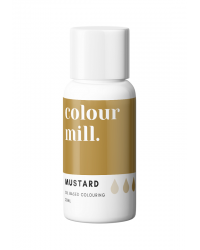 Colour Mill Oil Based Food Colouring Mustard