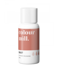 Colour Mill Oil Based Food Colouring Rust