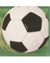 Soccer party luncheon napkins pack of 16