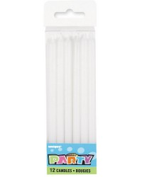 tall White candles