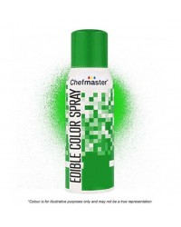 Chefmaster edible colour spray for icing Green Restricted Delivery Area