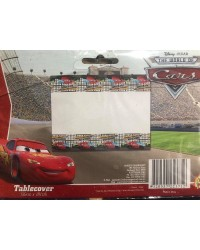 Cars Lightning McQueen party tablecover