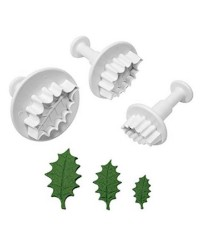 Set 3 Holly plunger cutters set 3